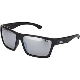 UVEX LGL 29 Occhiali, black mat/silver